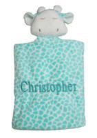 Angel Dear Blue Giraffe | Personalized Baby Gift