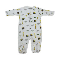 Zoo Footie  - MargeryEllen Layette
