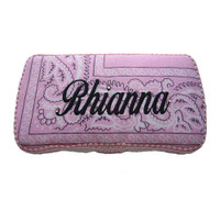 Personalized Travel Baby Wipe Case - Bandana Style