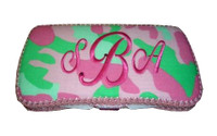 Baby Wipe Case - Pink Camo Travel Wipe Case