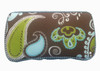 Personalized Baby Wipe Case | Aqua Lime Paisley