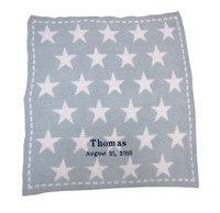 Barefoot Dreams Personalized Receiving Blanket - Stars