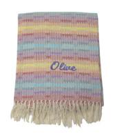 Handwoven Baby Blankets | Rainbow