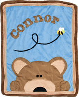 Boogie Baby Custom Blanket - Peekaboo Bear