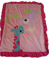 Boogie Baby Custom Blanket - Jungle Pals