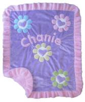 Custom Baby Blanket - Boogie Baby Hearts