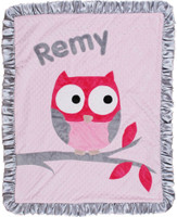 Boogie Baby Custom Crib Blanket | Owl