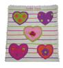 Baby Personalized Heart Blanket | Art Walk