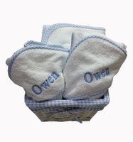 Baby Gift Basket of towels