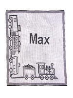 choo choo train baby blanket