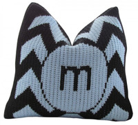 Baby Pillow  - Custom Butterscotch Blankee Chevron