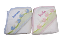 Twin Gift - 3Marthas Hooded Lamb Towels