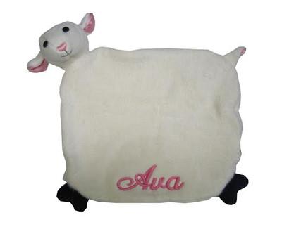Organic Security Blanket -  Apple Park Lamby
