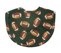 Personalized Baby Bib - 3Marthas Football Bib