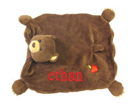 Organic Bear Cub Security Blanket - Apple Park Unisex Baby Gift