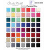 Color chart for cashmere travel wrap