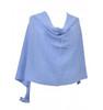 Cashmere topper sky blue