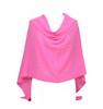 Cashmere dress topper candy pink
