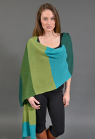 Cashmere Color Block Shawl