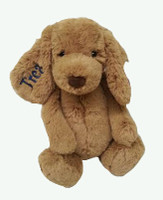 Personalized bashful toffee jellycat puppy