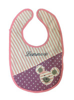 Organic personalized mouse bib