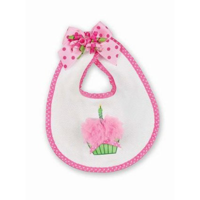Pink Birthday Bib