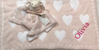 Baby Gift Set with Name - Barefoot Dream Heart