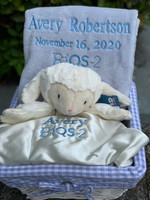 Corporate Baby Gift Basket with Names