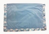 Blue dot luxe baby blanket