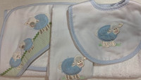 Baby Boy Gift Set - Lots of Lambs