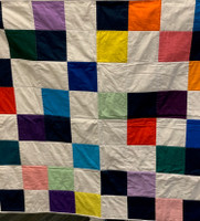 Custom Color Block Quilt