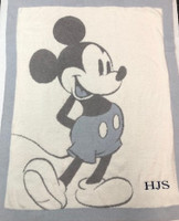 Vintage Mickey Mouse Baby Blanket by Barefoot Dream