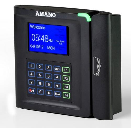 Amano MTX-30 Barcode Time clock Angle
