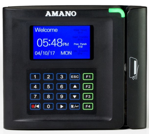 Amano MTX-30 Magnetic Stripe Time Clock