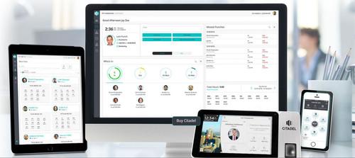 Citadel Time Cloud - time clock options phone app, tablet, or web