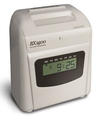 Amano BX1600 Digital Clock Face
