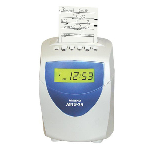 Amano MRX35 Time Clock Bundle