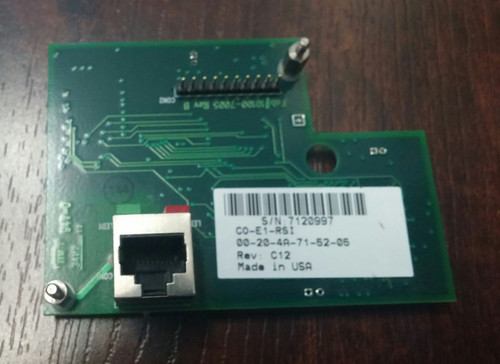 Hand Punch Ethernet Card