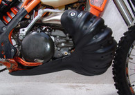 EXG106 Poly blend exhaust sump guard combo