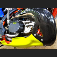 HYDE CARBON EXHAUST POLY SUMP GUARD COMBO