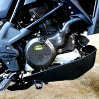 CARBON KEVLAR INFUSION CLUTCH GUARD