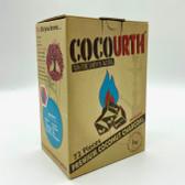 CocoUrth Cube Premium Coconut Charcoal 72 pieces