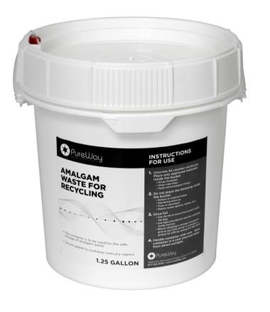 PureWay 1.25 gallon Amalgam Recycling Bucket - Mail back