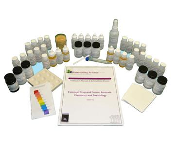 Forensic Drug and Poison Analysis Lab Kit
