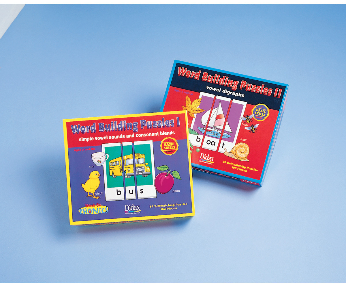 Phonics Word Puzzles - Community Learning