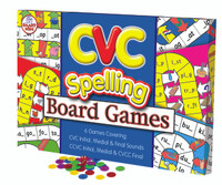 CVC Spelling Board Game