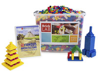 Bricklab Famous Architecture Summer Camp Kit for Grades 4-6