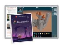 Blocksmith Educational 3D Programming Summer Camp for Grades 6-10, Unlimited Users