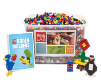 BrickLAB Brain Builders Summer STEM Camp Kit for Grades 1-3
