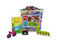 BrickLAB Magic Beans Summer STEM Camp Kit for Grades 1-3